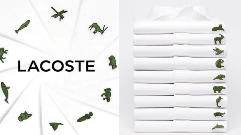 鱷魚不見了!Lacoste限量Polo衫標誌換成瀕臨絕種動物