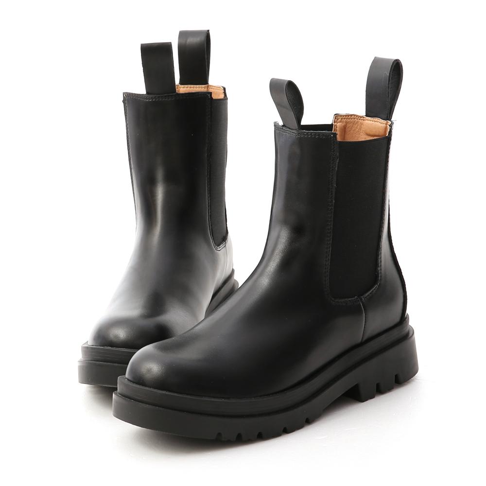 D+AF 獨領風潮.加厚鞋底切爾西短靴