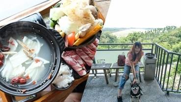 清豐濤月景觀餐廳 嘉義仁義潭養生足湯 / 泡腳好去處,火鍋好吃但稍貴…。
