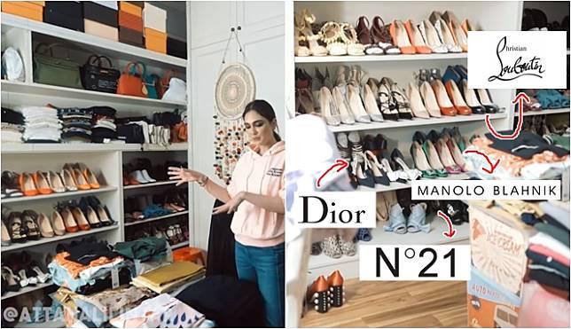 Grebek Rumah, 7 Artis Ini Miliki Sudut Koleksi Sepatu, Netizen: Dijual Lagi Dapat Apartemen!