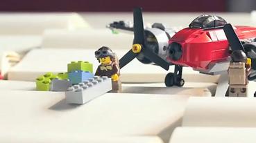LEGO X Moleskine 樂高積木筆記本影片