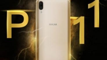 大螢幕大電量,SUGAR P11 雙鏡台灣之星獨家開賣、專案價 0 元起