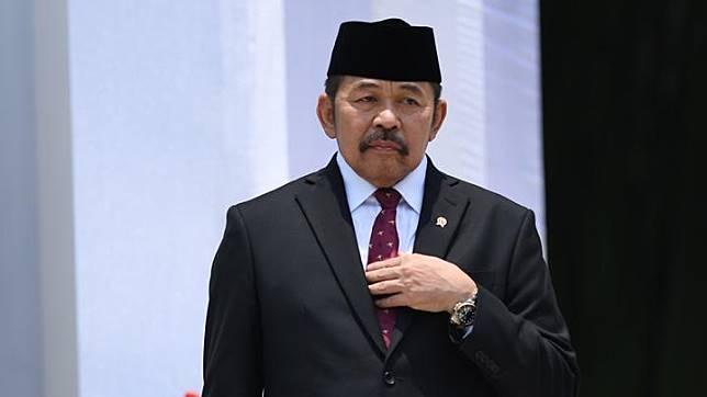 Attorney General ST Burhanuddin. ANTARA/Wahyu Putro A