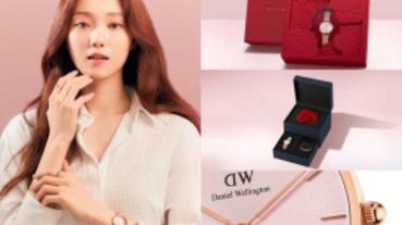 七夕限定成雙飾愛!李聖經最新爆款DW「Petite Melrose柔光粉」腕錶,掀起粉色時尚浪漫風暴!