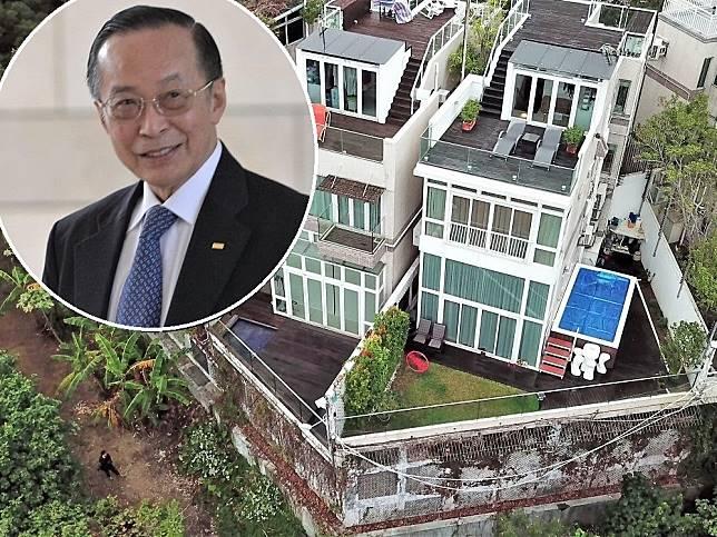 潘樂陶涉嫌在其位於屯門小欖的獨立屋中僭建逾14立方米的水池,被屋宇署票控。