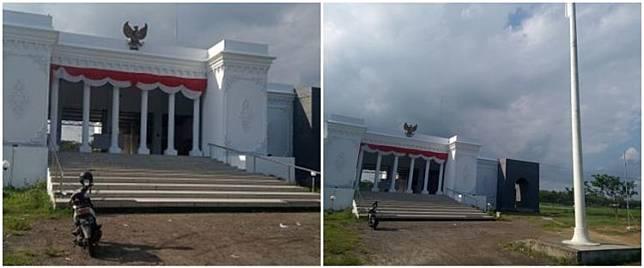 Kantor desa di Jember dibangun mirip Istana Negara Jakarta, megah