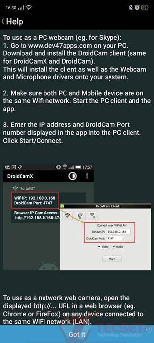 Tips Ubah Kamera Ponsel Jadi Webcam Buat Video Conference Telset Line Today