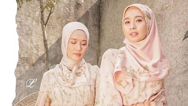 Laudya Cynthia Bella Luncurkan Busana Muslim Bareng Influencer