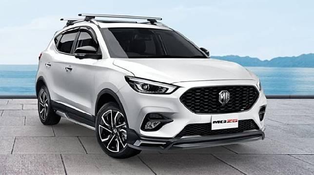 MG ZS Facelift meluncur di Thailand, 25 Maret 2020. (MG Thailand)