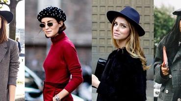 路人甲與時尚潮人只差一頂帽子,秋冬這3頂一定要買著先~