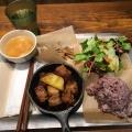 DIYプレートポーク - 実際訪問したユーザーが直接撮影して投稿した西新宿サラダ専門店D.I.Y. SALAD & DELICATESSENの写真のメニュー情報