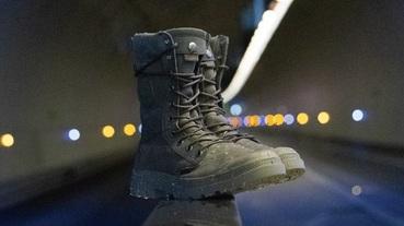 官方新聞 / PALLADIUM TACTICAL 拉鍊戰靴首度搭載橘標防水科技 軍裝結合機能迎戰冬季濕冷