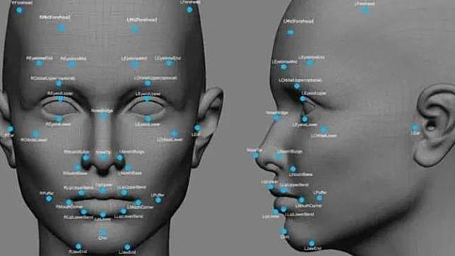 Ilustrasi Teknologi Pengenalan Wajah. Dok: ubergizmo.com