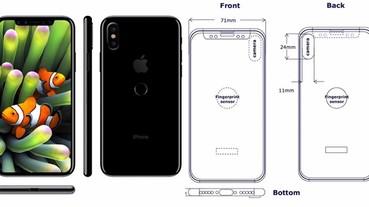指紋感應位置落實!?新一代 iPhone 設計圖曝光