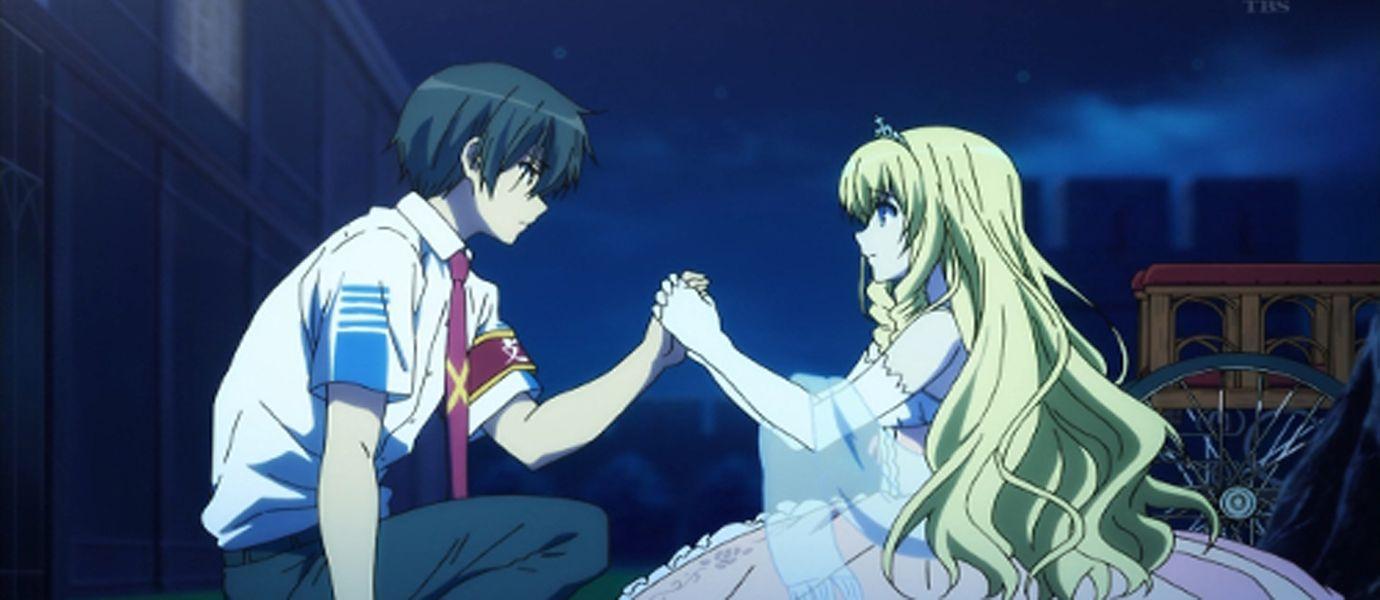 Anime Lover Foto Anime Perempuan Menangis