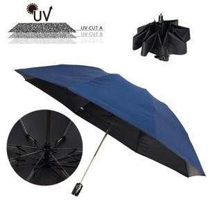 晴雨兩用自自動開收反向傘 抗UV達百分之99 降溫13度黑膠傘布 玻纖防風傘骨 速乾傘面
