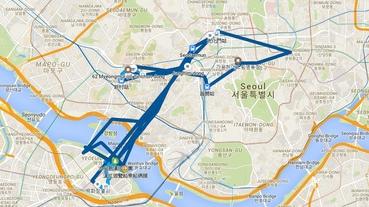 【韓國自由行好用地圖APP推薦】kakao map 카카오맨使用簡易教學