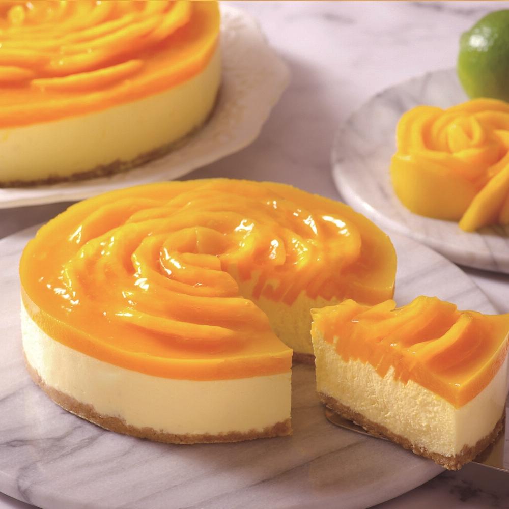 ls手作甜點愛文芒果生乳酪蛋糕 8吋