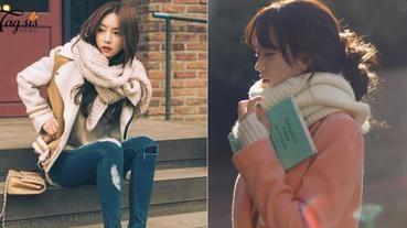 手殘女也可以輕易學會的6種圍巾綁法,同一條圍巾用不同綁法,變不一樣的造型了