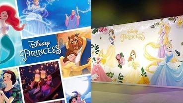 迪士尼公主鐵粉快衝台中草悟道!《Miravivi 公主的夢幻世界》免費入場~限量300組巨型「小美人魚抱枕」必搶!