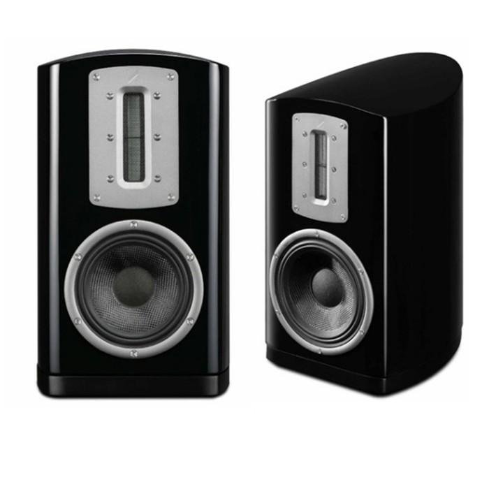 優美外觀與古典的箱體設計『絲帶高音』優異的高性能展現全機種高貴鋼琴烤漆, 白色、黑色、玫瑰紅3色產品介紹Z-2 書架 喇叭 -QUAD 最頂級的絲帶高音揚聲器 專為 Hi-END 音樂重播,實現最真實
