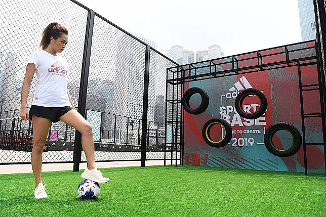 當然唔少得往年大受歡迎的足球、跑步和體能訓練。