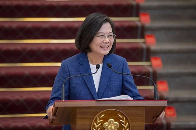 蔡總統:選舉結果給北京強烈訊息 台灣人民不喜歡被威脅