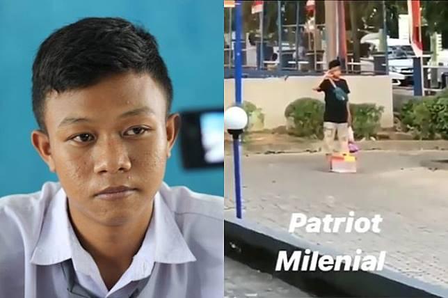 Kisah Hairil, Bocah yang Dicari Via Vallen Usai Viral karena Hormat Bendera Saat Bedagang Asongan