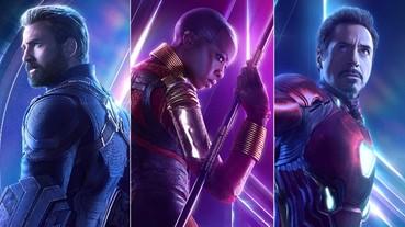〔復仇者聯盟〕《復仇者聯盟 3》全新版個人海報曝光,除了帥還是帥