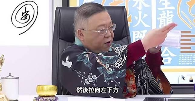 李居明強調在4月8日疫情將會平息。