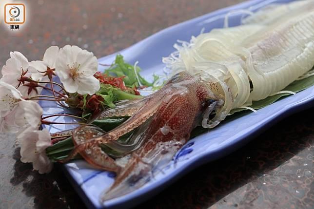 夏日是魷魚旺季,現在享用正是時候。(李家俊攝)