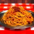 旨辛ナポ - 実際訪問したユーザーが直接撮影して投稿した新宿パスタスパゲッティーのパンチョ 新宿店の写真のメニュー情報
