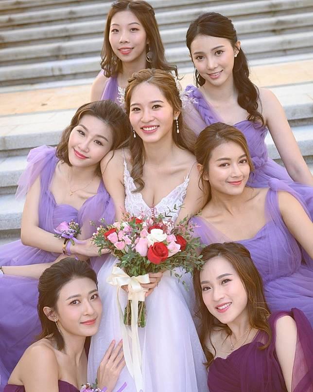 楊嘉欣感謝一班姊妹團出力幫忙。