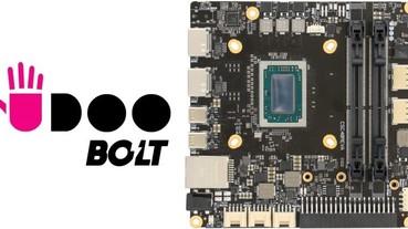 Udoo再推迷你電腦開發板Bolt,採用Ryzen處理器與Vega繪圖處理器