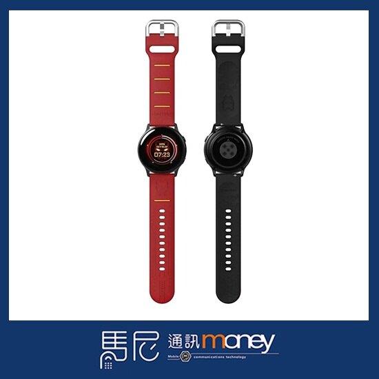 原廠 三星 SAMSUNG Galaxy Watch MARVEL 漫威替換錶帶/20mm/矽膠錶帶【馬尼通訊】