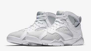 新聞分享 / 夏日必備白鞋 Air Jordan 7 Retro 'Pure Platinum' 將於 6 月發行