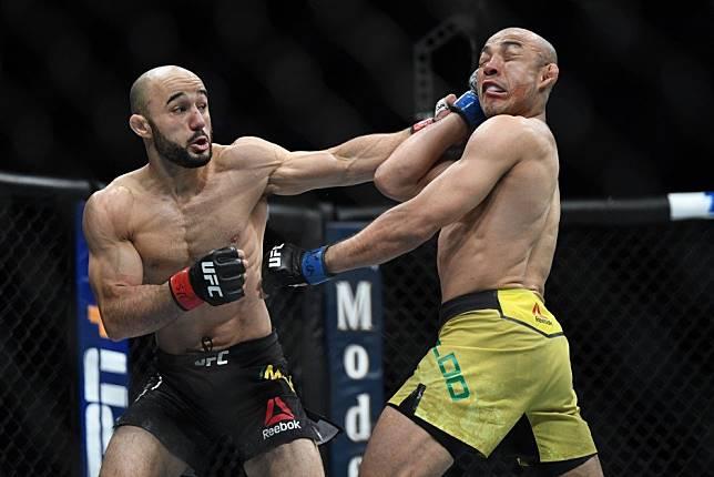UFC 245: Marlon Moraes spoils Jose Aldo's bantamweight debut with narrow decision win