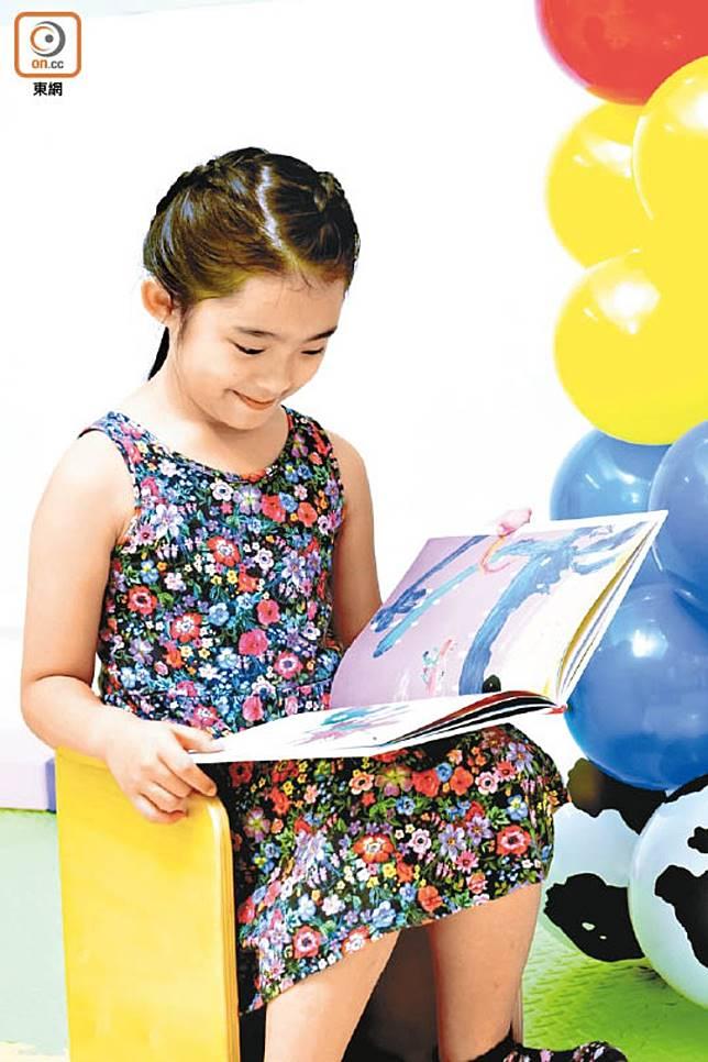 閱讀的培養必須從小慢慢建立習慣。(莫文俊攝)