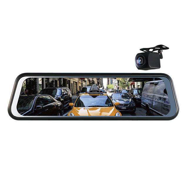品名:Polaroid 寶麗萊 DE961+AHD 雙鏡頭 電子後視鏡BSMI:R45334保固:非人為損壞 保固一年【產品特色】★ 9.66吋IPS全觸控電子螢幕★ 6G全玻璃1080P高解析鏡頭★