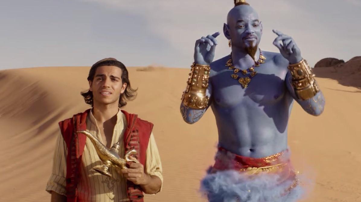 威爾史密斯變成藍色? 真人版《阿拉丁Aladdin》即將上映