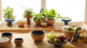 結合陶與竹,打造餐桌流動風景