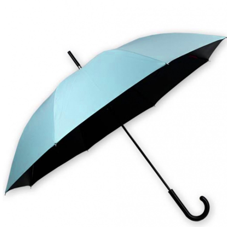 雨傘王 - BigRed 輕巧無敵自動直傘-水藍 ((65cm*8k))-終生維修