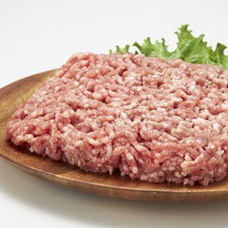 豚挽肉(解凍肉を含む)