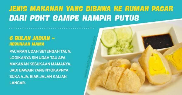 Jangan Sampe Salah! Ini Makanan yang Harus Kamu Bawa ke Rumah Pacar dari PDKT Sampe Putus