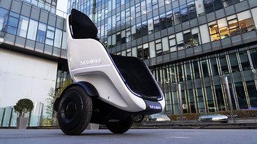 Segway 最新款電動平衡車 S-Pod ,坐著就能輕鬆駕駛