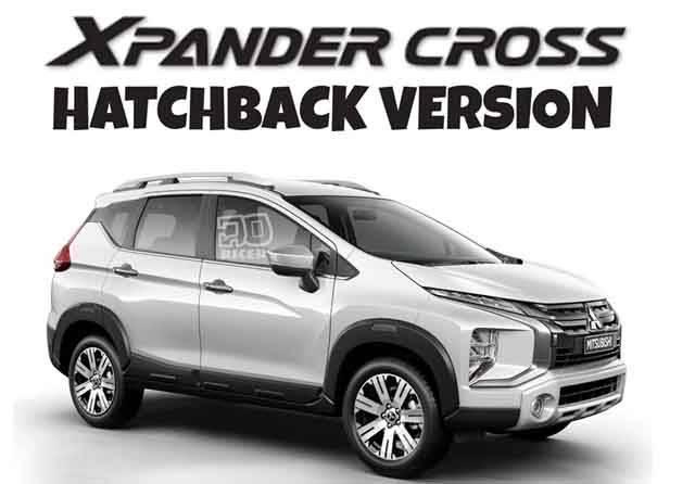 Desain Xpander Cross Hatcback 5 Penumpang Muncul di Dunia Maya