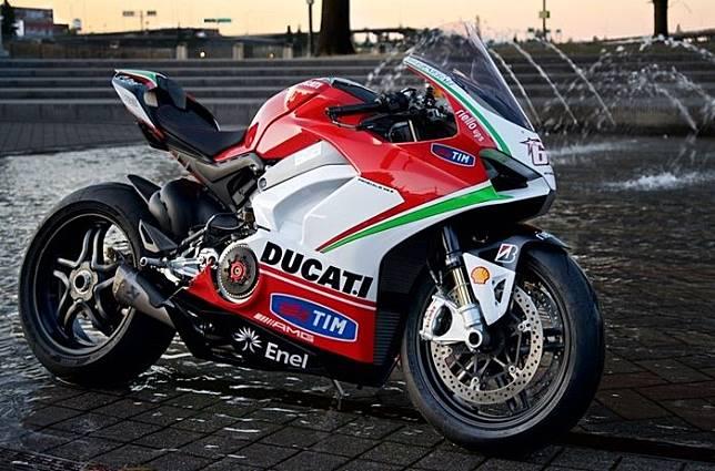 Ducati Panigale V4 edisi Nicky Hayden