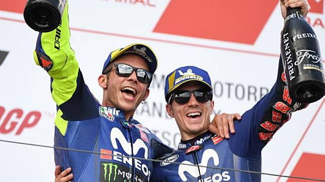 Valentino Rossi Tinggalkan Yamaha, Maverick Vinales Buka Suara