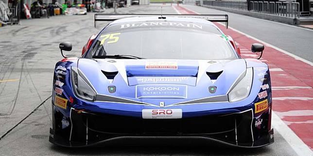 Persiapan Balap Blancpain, Rio Haryanto Harus Adaptasi dengan Tombol Ferrari 488 GT3