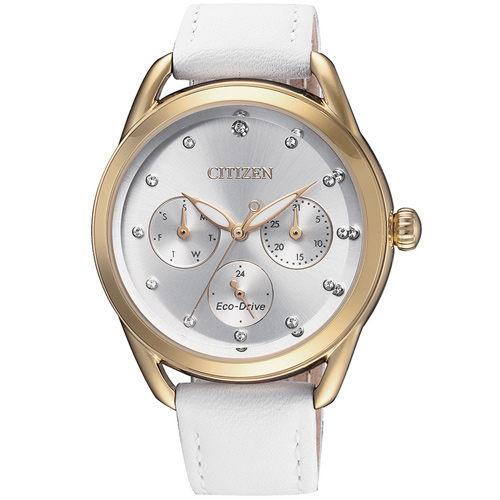 星辰CITIZENLadies光動能獨具格調腕錶(FD2059-16A)-37mm